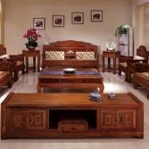刺猬紫檀三号明式沙发